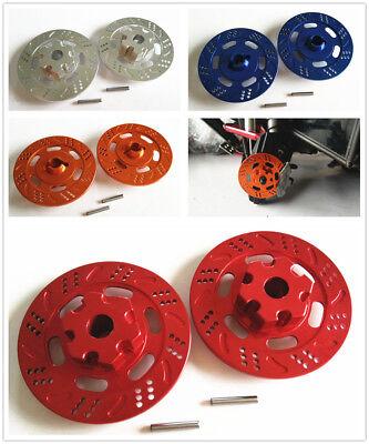 4* Aluminum Brake Disc Caliper Hub For1//7RC TRAXXAS UDR Unlimited Desert Racer