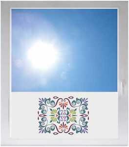 Sichtschutzfolie-Fensterfolie-Sonnenschutz-GMD108-Vogel-Drachen