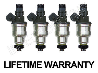 Set of 8 Fuel Injectors For FORD THUNDERBIRD COUGAR 5.0 V8 24lb 4 HOLE UPGRADE