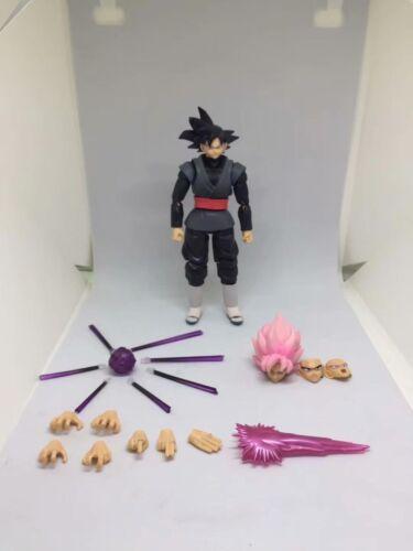 SHF S.H.Figuarts Dragon Ball Super Saiyan Goku Black Zamasu Rose Action Figure