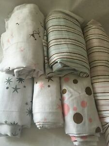 Aden & Anais Classic 100% muslin swaddles, *Price for one only