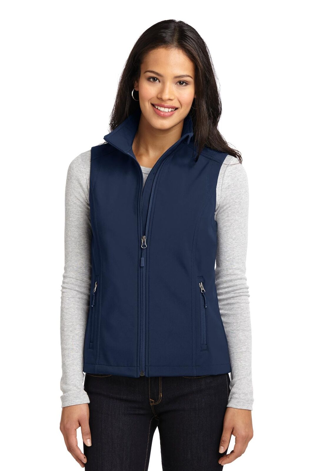 Port Port Port Authority Women's Long Sleeve Core Soft Shell Vest - L325 FREE SHIPPING  cf4880