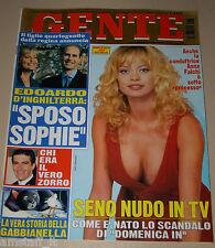 GENTE=1999/3=ANNA FALCHI=MODA FAMIGLIA GUCCI=TOMMASSINI=ZORRO ANTONIO BANDERAS=