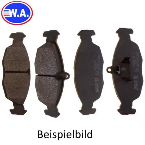 Bremsbelagsatz Bremsbeläge Bremsklötze Bremssteine Scheibenbremse