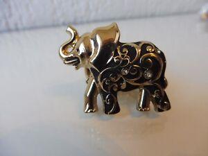 Magnifique-Grand-cm-Manque-cm-Anneau-cm-Elephant-Zircon-Rare