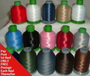 RADIANT TURQUOISE Maxilock Stretch Overlock Thread solid color woolly nylon