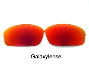 d67c4807c99 Galaxy Replacement Lenses For Oakley Half Wire 2.0 Sunglasses Red ...