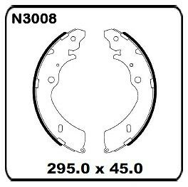 Holden-Rodeo-RA-With-295mm-Rear-Drums-3-2003-onwards-REAR-Drum-Brake-Shoe-N3008