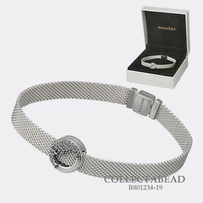 Authentic Pandora Silver Reflexions Bracelet and Charm Gift Set B801234 |  eBay