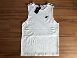 479207b731199f New NIKE Sportswear Advance 15 Mesh Knit Tank Top Sleeveless Sz L ...