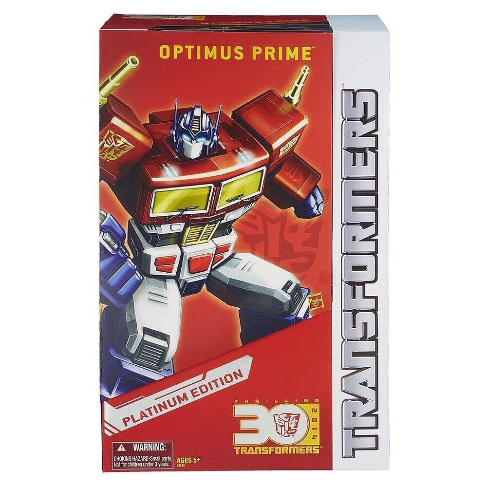 Hasbro Transformers PLATINUM Anno del Cavallo capolavoro Optimus Prime NUOVO