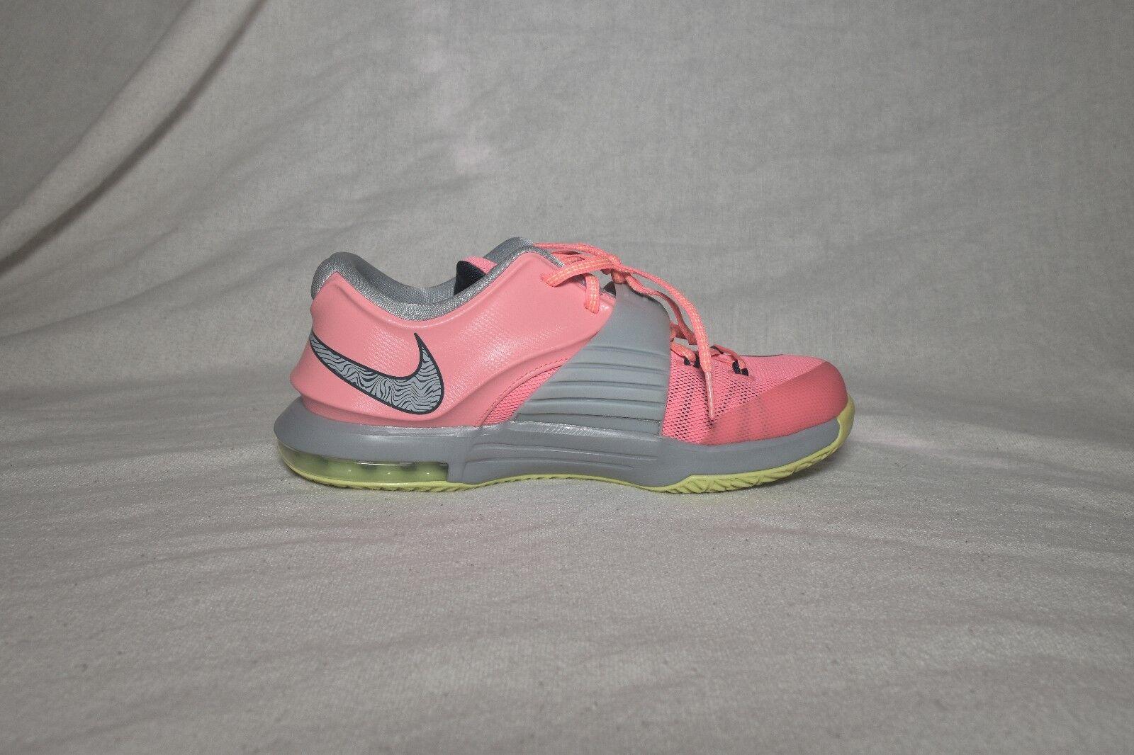 super popular 7f07b d38dc ... Nike Air KD KD KD 7 VI 35000 Degrees Pink Grey Volt Neon Sneakers  Women s Size ...