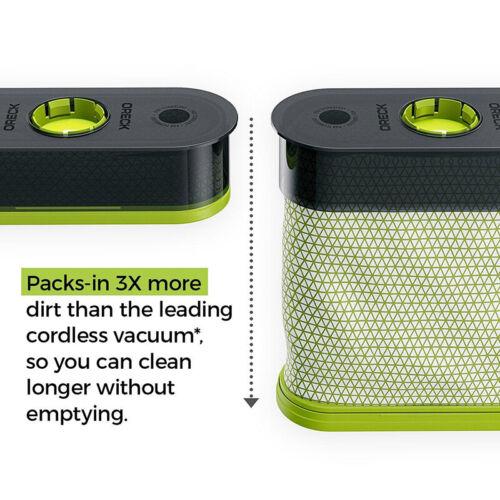 5 Genuine Oreck Self-sealing POD refills for Cordless Vacuum BK51700 Series