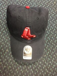 new concept 70218 a412d Image is loading 47-Brand-Clean-Up-MLB-Hat-Cap-Boston-