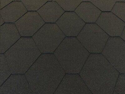 Schindeln 2 Pakete Dachschindeln Hexagonal Dreieck Form 6 m/² Braun