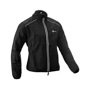 RockBros-Cyclisme-Manteau-de-velo-Vent-manteau-a-manches-longues-long-Jersey-Veste-Noire