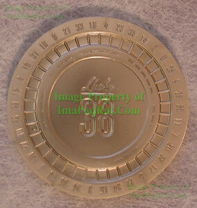 Lucky-38-Platinum-Poker-Chip-from-Fallout-New-Vegas-Collector-039-s-Edition-UNUSED