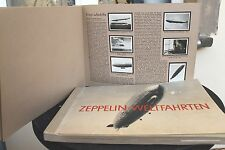 7484bGREILING Zigaretten Bilder Album Zeppelin Weltfahrten 1932 264 photos cards