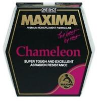 Maxima One Shot 4 6 8 Lb Test Fishing Line Spool Chameleon Choice Of Size Weight
