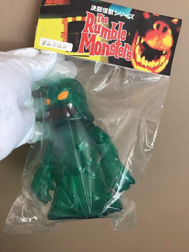 2004 HD-YL Rumble Monstres damnedron 6  Vinyle Sofubi figure (vert)