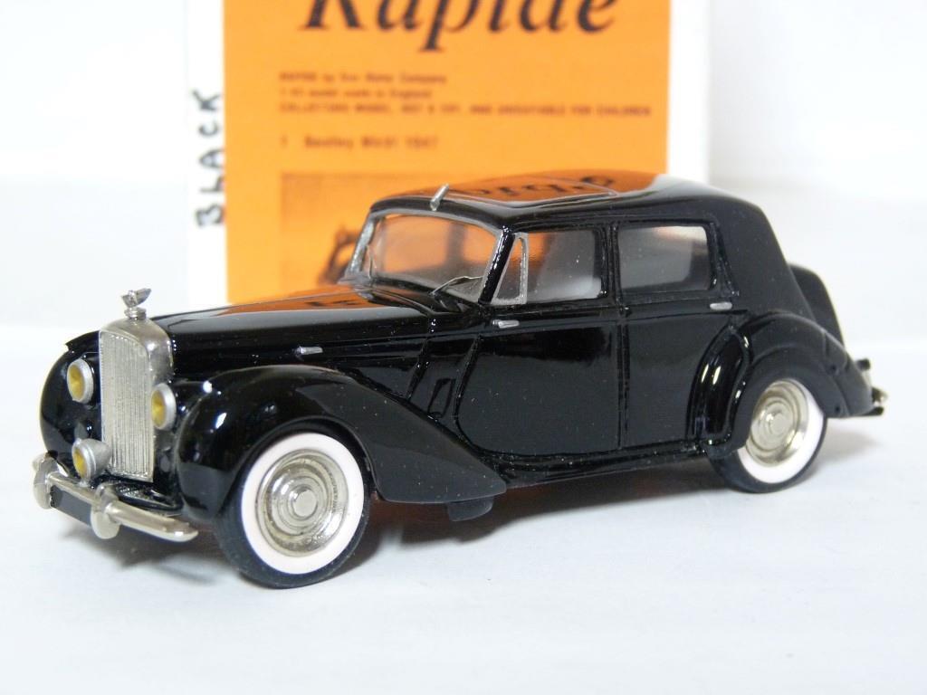 RAPIDE Sol Motor 1 1 43 1947 Bentley Mk. VI Coche Modelo de Resina Hecho a Mano