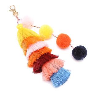 EB-CO-Bohemia-Women-Colorful-Tassel-Keychain-Key-Ring-Backpack-Hanging-Ornamen