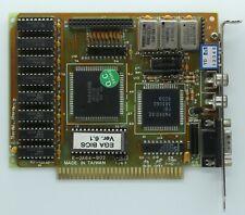 1x Genuine PBI 38306C PEGA2A PARADISE 256KB 8bit ISA EGA Graphics Card CHIP IC