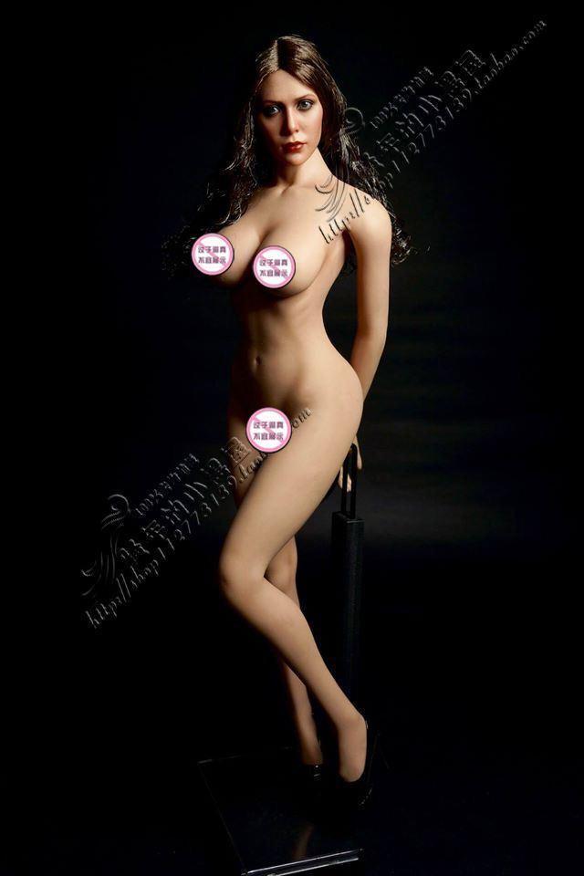 TBLeague S09C 1 6 Scale Female big breast modèle de corps FLEXIBLE action figure doll