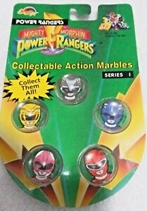 Power Rangers 1994 Collectable Series 1 Action Marbles Numbered Package New NIP