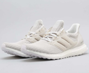 8a0cb28541162 ADIDAS ULTRA BOOST 4.0 CHALK PEARL CREAM BB6177 US MENS SZ 7-11