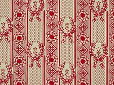 "Lee Jofa Wallpaper LAURIER TOILE FADED RED 1st Quality - 200"" Length x 21"" width"