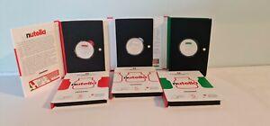 Set 3 x 5 Euros Argent Silver Commémorative Nutella Italie 2021