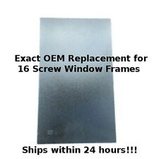 RV Glass for Entry / Entrance Door Windows - Travel Trailer & 5th Wheels