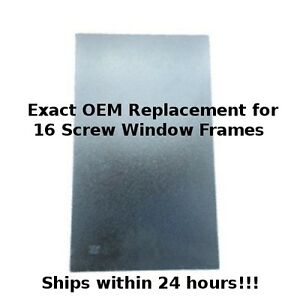 RV Glass for Entry / Entrance Door Windows - Travel Trailer & 5th Wheels