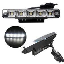 2X 5LED 10W Car Daytime Running Lights DRL Driving Fog Head Lamp 00RL E4 0057