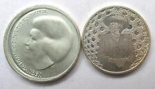 Niederlande Lot von 5 Euro 2005 & 10 Euro 2002, Beatrix, Silber