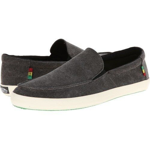 d49df748608 VANS OTW Bali Washed Black Rasta Shoes Mens Sz 7 Skate for sale online