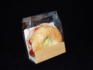 1000 x Bagel Packaging kit (u card, bags, self adhesive label) (NSRCBGLKIT)