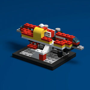 LEGO-60th-Anniversary-6399-Airport-Shuttle-PDF-Instructions-LDD-Files