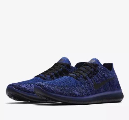 Nike Free Flyknit 2017 RN (GS) Youth Taglia 5.5 EUR 38.5 (881973 403) Viola