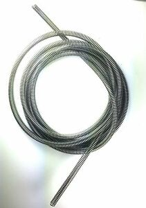 "Stainless Steel Brake Line Protector for 1//4/"" Tube  16 Ft. Gravel Guard Spring"