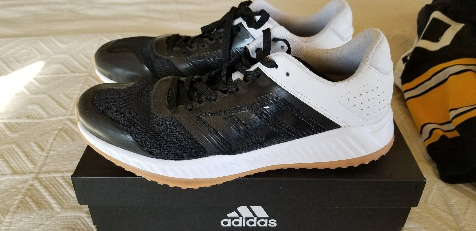 Adidas ZG M Sneakers Running Men's 10.5 Black White Wild casual shoes