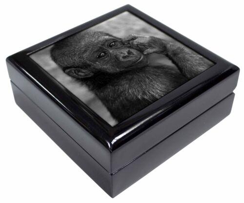 Baby Mountain Gorilla Keepsake//Jewellery Box Christmas Gift AM-5JB