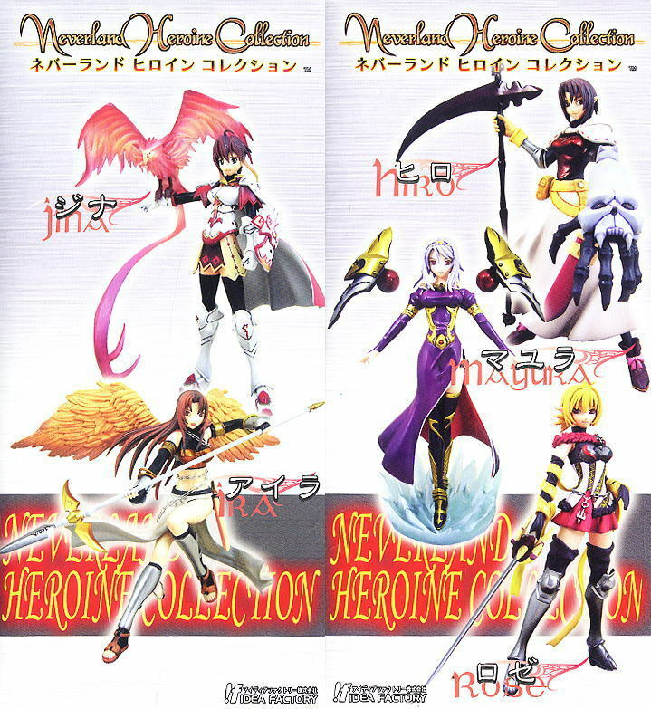 Atelier Sai Neverland Heroine Collection Spectral Force Trading Figure Set of 5