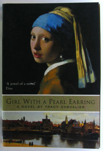 1 of 1 - #JJ58, Tracy Chevalier GIRL WITH A PEARL EARRING, SC GC