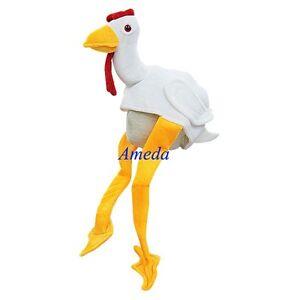 Details about turkey chicken chick fun party costume mask hat cap kids