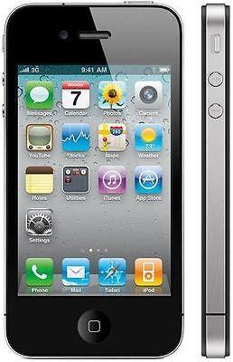"APPLE iPHONE 4S Débranché Noir 64gb Dual Core 8Mp 3.5"" Screen Ios Smartphone"