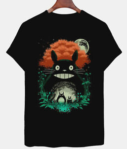 My-Neighbor-Totoro-Art-T-Shirt-Studio-Ghibli-Graphic-Tee-Men-039-s-and-Women-039-s