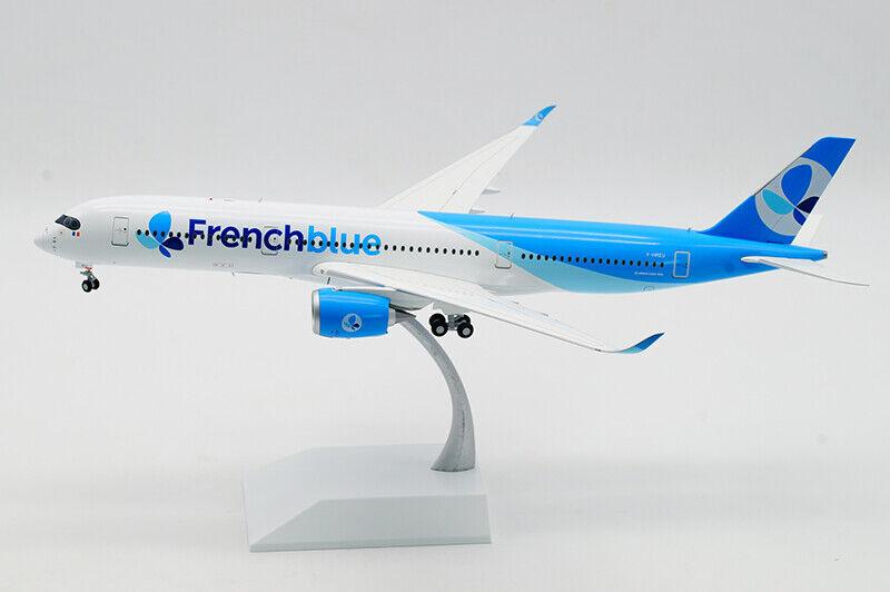 1 200 33CM JC WINGS Francebluee AIRBUS A350-900 Passenger Airplane Diecast Model
