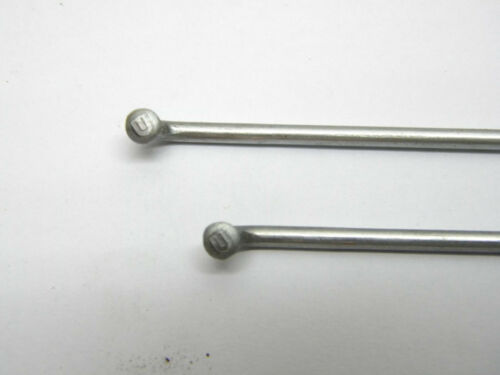 Vintage 36pcs Galvanized Spoke 13G//2.34mm  132//141//197//200//234mm Length